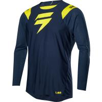 Мотоджерси Shift Blue Risen 2.0 Jersey Navy/Yellow