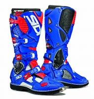 Мотоботы SIDI CROSSFIRE 20 White/Blue/Red Fluo