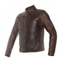 DAINESE MIKE LEATHER JACKET - DARK BROWN куртка кож муж