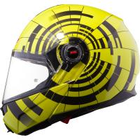 Мотошлем LS2 FF386 ABYS HI-VIS YELLOW