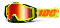 Очки 100% Racecraft Attack Yellow / Mirror Red Lens