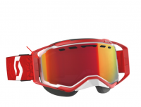 SCOTT зима Очки Prospect Snow Cross white/red enhancer red chrome