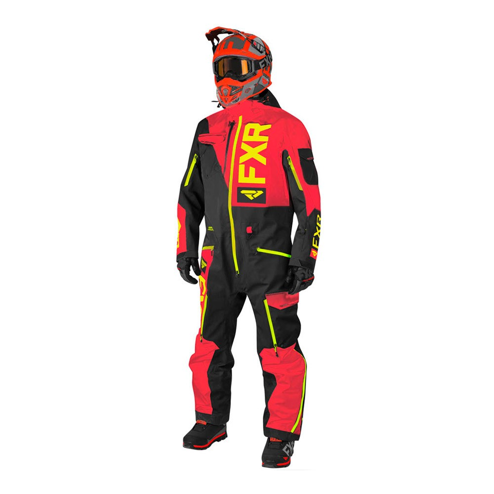 Комбинезон FXR Ranger Instinct без утеплителя Black/Red/Hi Vis