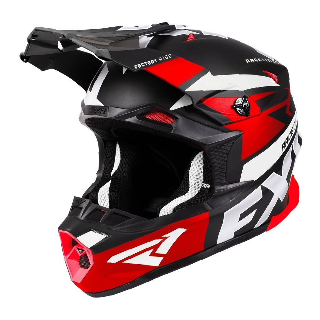 Шлем FXR Blade 2.0 Force Black/Red/White