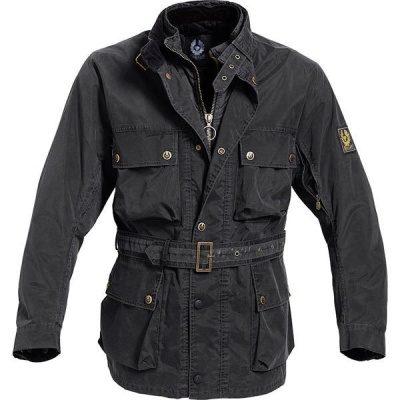 Мотокуртка Belstaff PM XL500 Replica Jacket Black фото в интернет-магазине FrontFlip.Ru